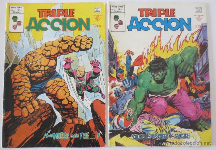 Cómics: TRIPLE ACCION VOL 1 COMPLETA VERTICE - Foto 8 - 52766736