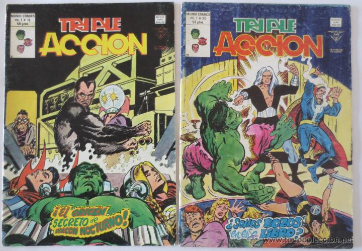 Cómics: TRIPLE ACCION VOL 1 COMPLETA VERTICE - Foto 12 - 52766736