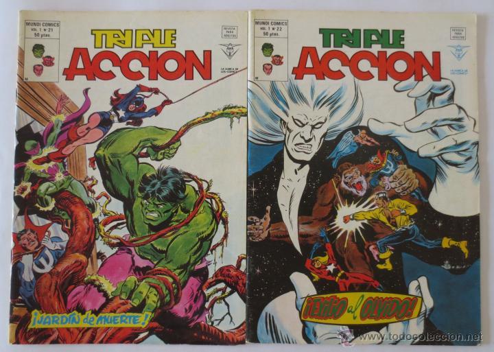 Cómics: TRIPLE ACCION VOL 1 COMPLETA VERTICE - Foto 13 - 52766736