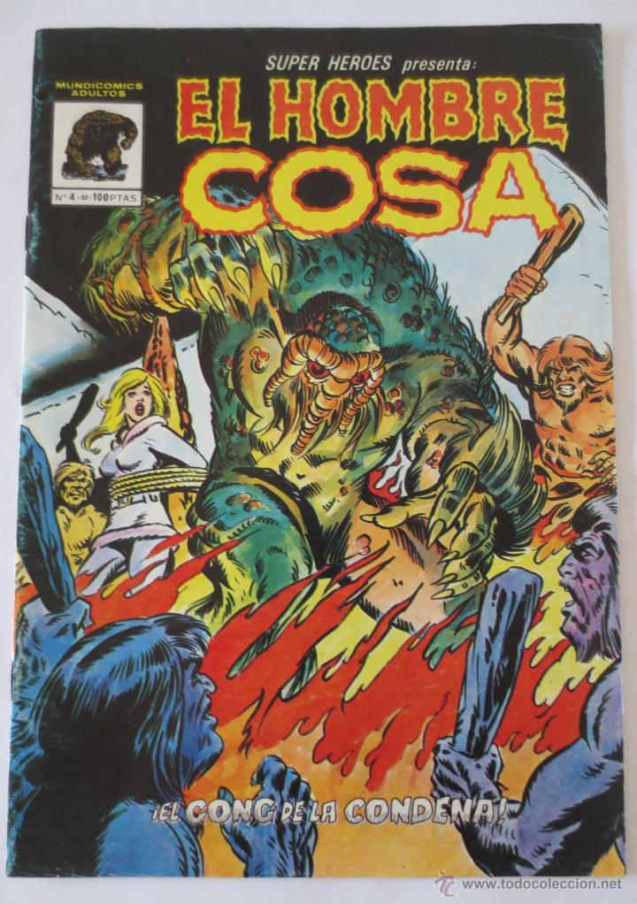 EL HOMBRE COSA Nº 4 VERTICE (Tebeos y Comics - Vértice - Super Héroes)
