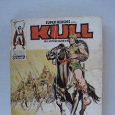Cómics: SUPER HEROES PRESENTA KULL EL CONQUISTADOR, Nº 3 - CABALGA EL REY KULL - EDICIONES VERTICE.. Lote 52845458
