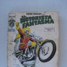 Cómics: SUPER HEROES PRESENTA EL MOTORISTA FANTASMA, Nº 8 - LA DANZA DE LA MUERTE - EDICIONES VERTICE.. Lote 52846326