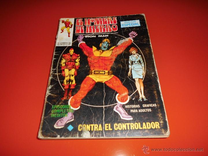 EL HOMBRE DE HIERRO VOL. 1 Nº 5 VERTICE (Tebeos y Comics - Vértice - Hombre de Hierro)