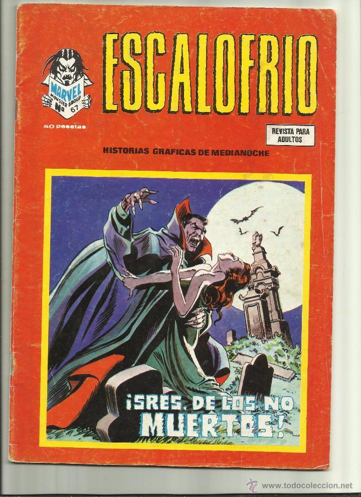 ESCALOFRIO Nº 67 (Tebeos y Comics - Vértice - Terror)