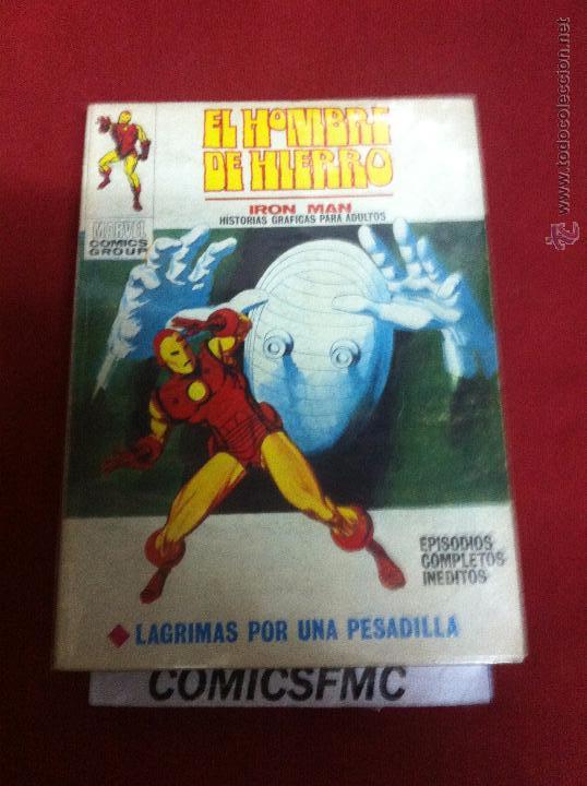 VERTICE HOMBRE DE HIERRO NUMERO 22 MUY BUEN ESTADO (Tebeos y Comics - Vértice - Hombre de Hierro)