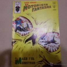 Cómics: SUPER HEROES EL MOTORISTA FANTASMA V 2 Nº 106 EL MAGO Y EL MONSTRUO MUNDI COMICS VERTICE. Lote 53071442