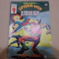 Cómics: SUPER HEROES SPIDERMAN Y LA PANTERA NEGRA Nº 123 V 2 MUNDI COMICS VERTICE. Lote 53071776