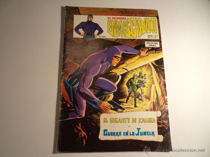 EL HOMBRE ENMASCARADO. V2- Nº 4. VERTICE. (M-2) (Tebeos y Comics - Vértice - Hombre Enmascarado)