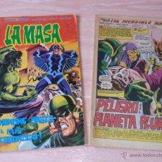 Cómics: LA MASA - VOL.3 - NÚMEROS 37 Y 38 - VÉRTICE MUNDI COMICS - 1979 (NÚMERO 38 SIN PORTADA - CONTRAPORTA. Lote 53203269