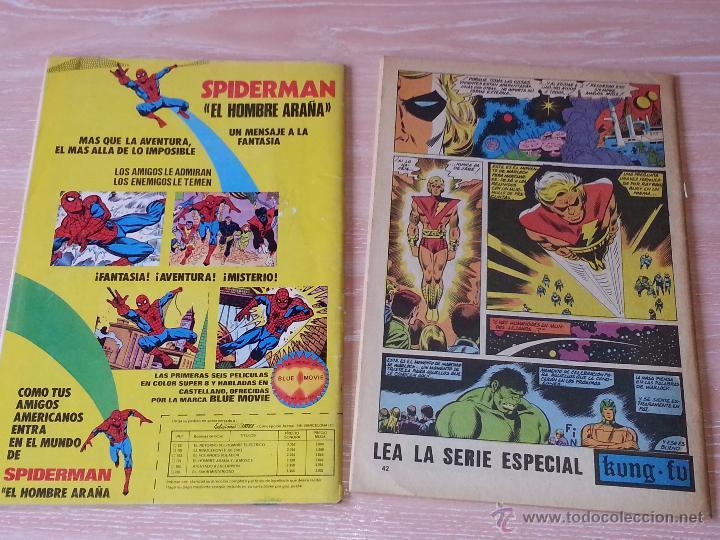 Cómics: LA MASA - VOL.3 - NÚMEROS 37 Y 38 - VÉRTICE MUNDI COMICS - 1979 (NÚMERO 38 SIN PORTADA - CONTRAPORTA - Foto 4 - 53203269