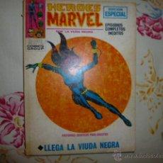 Cómics: HEROES MARVEL Nº 5 VOLUMEN 1 V 1 VERTICE LLEGA LA VIUDA NEGRA.. Lote 53203866