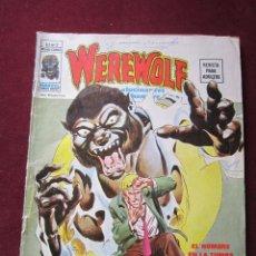 Cómics: WEREWOLF. HOMBRE LOBO Nº 2 VAMPIROS EN LA LUNA V.2. VERTICE 1974 TEBENI . Lote 53216181