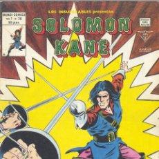 Cómics: LOS INSUPERABLES. EDITORIAL VÉRTICE, 1980.SOLOMON KANE. MUNDI COMICS Nº36. PERSONAJE DE HOWARD . Lote 53275229