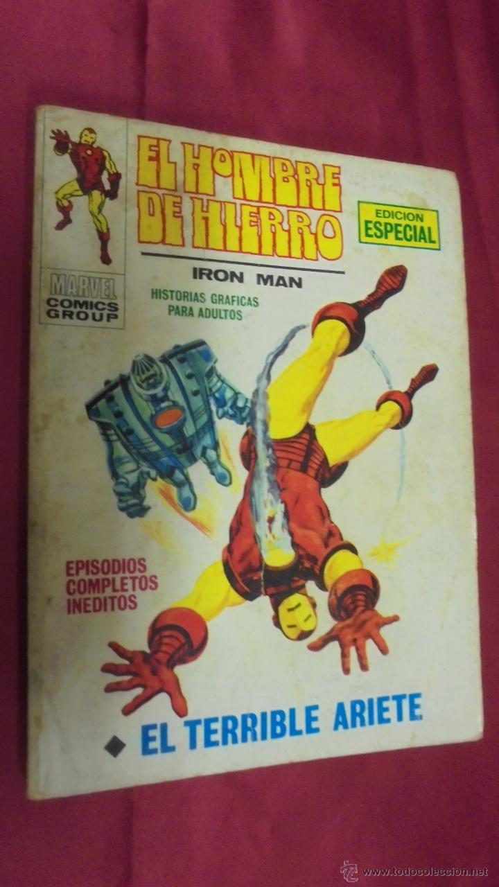 EL HOMBRE DE HIERRO. VOLUMEN 1. Nº 17. EL TERRIBLE ARIETE. VERTICE. (Tebeos y Comics - Vértice - Hombre de Hierro)