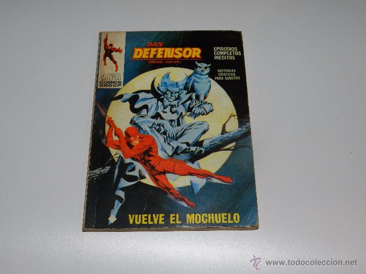 (M1) DAN DEFENSOR NUM 34 , EDC VERTICE 1972, SEÑALES DE USO (Tebeos y Comics - Vértice - Dan Defensor)