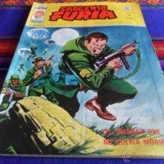 Comics : VÉRTICE VOL. 2 SARGENTO FURIA Nº 32 Y ÚLTIMO. 50 PTS. 1977. EL SOLDADO QUE NO QUERÍA MORIR. RARO.. Lote 53369946