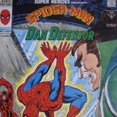 Cómics: SUPER HEROES. VOL 2. SPIDERMAN Y DAN DEFENSOR. Nº 99. VERTICE.. Lote 142728834