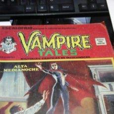 Cómics: VAMPIRE TALES - ESCALOFRIO - N°31. Lote 53541192