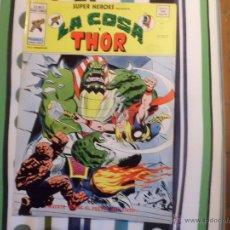 Cómics: SUPER HEROES V 2 VOL II VERTICE : LA COSA Y THOR Nº 77 MUNDI COMICS. Lote 53571680