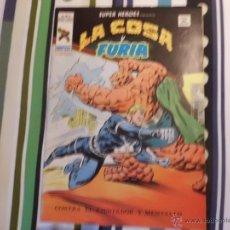 Cómics: SUPER HEROES V 2 VOL II VERTICE : LA COSA Y FURIA Nº 87 MUNDI COMICS. Lote 53571714