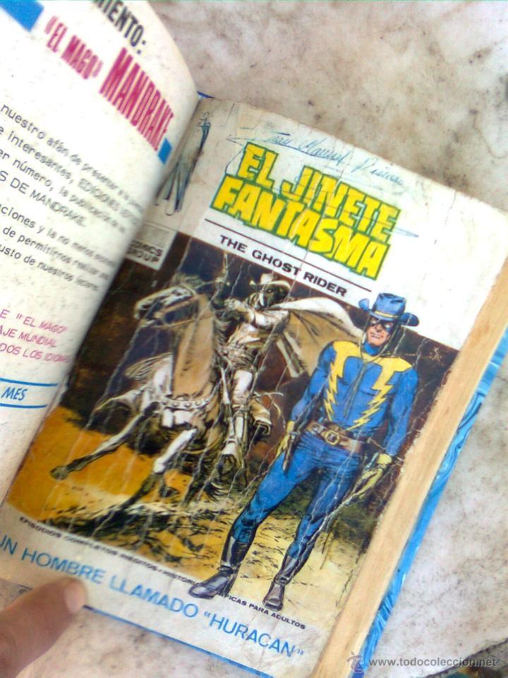 Cómics: Jinete Fantasma Vértice vol.1 completa - 4 vol. en 1 tomo 1972 enc. piel - Foto 2 - 53607643