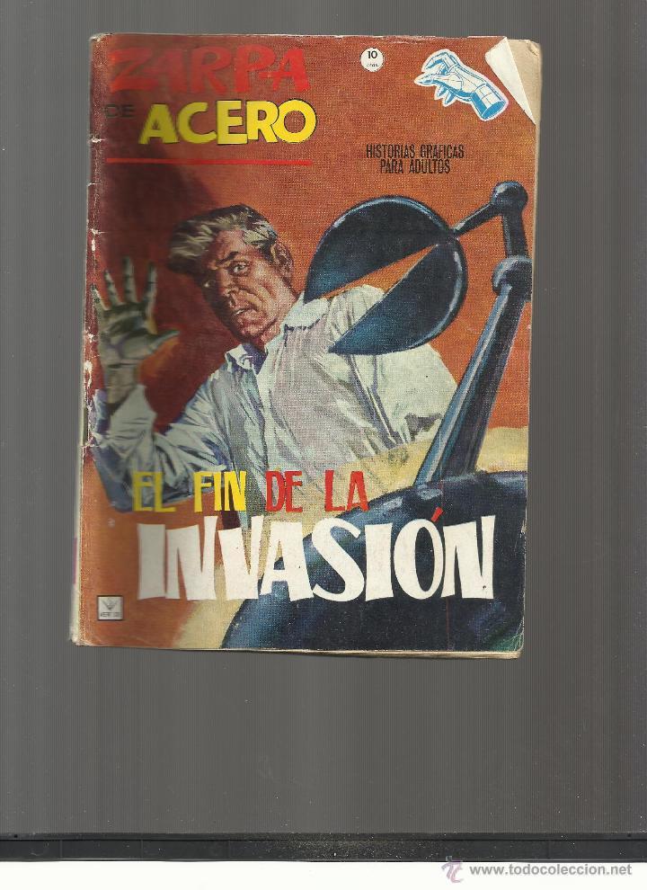 ZARPA DE ACERO Nº 17 (Tebeos y Comics - Vértice - Otros)