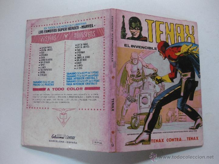 TENAX EL INVENCIBLE Nº 9.. EDICIONES VERTICE TACO. 1972. (Tebeos y Comics - Vértice - Otros)