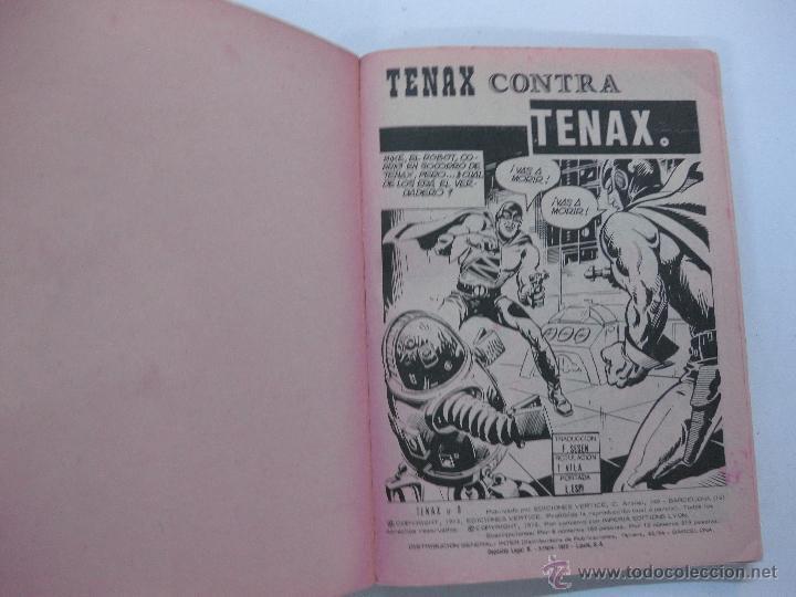 Cómics: TENAX EL INVENCIBLE Nº 9.. EDICIONES VERTICE TACO. 1972. - Foto 2 - 53619461