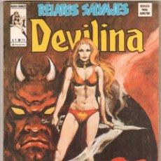 Cómics: RELATOS SALVAJES Nº V 1 Nº 15 DEVILINA - EN EXCELENTE ESTADO. Lote 53624172