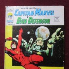 Cómics: HEROES MARVEL Nº 9. VOL. 2. CAPITÁN MARVEL Y DAN DEFENSOR VERTICE 35 PTS V. 2. TEBENI BUENO. Lote 53656698