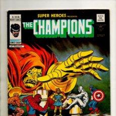 Cómics: SUPER HEROES 85 - VERTICE - DOCTOR MUERTE Y NAMOR / THE CHAMPIONS - VFN- (7.5) FANTASTICO. Lote 53675054