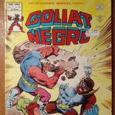 Cómics: SELECCIONES MARVEL VOLUMEN 1 DE VERTICE Nº49 GOLIAT NEGRO EN GRAPA. Lote 53692596