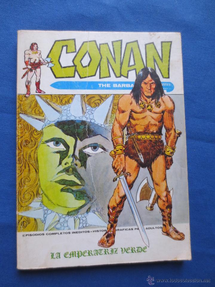 MARVEL - TACO VÉRTICE VOLUMEN 1 - CONAN N.º 8 - LA EMPERATRIZ VERDE (Tebeos y Comics - Vértice - Super Héroes)
