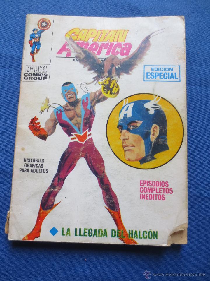 MARVEL / TACO VÉRTICE VOLUMEN 1 - CAPITÁN AMÉRICA N.º 7 - LA LLEGADA DEL HALCÓN - EDICIÓN ESPECIAL (Tebeos y Comics - Vértice - Super Héroes)