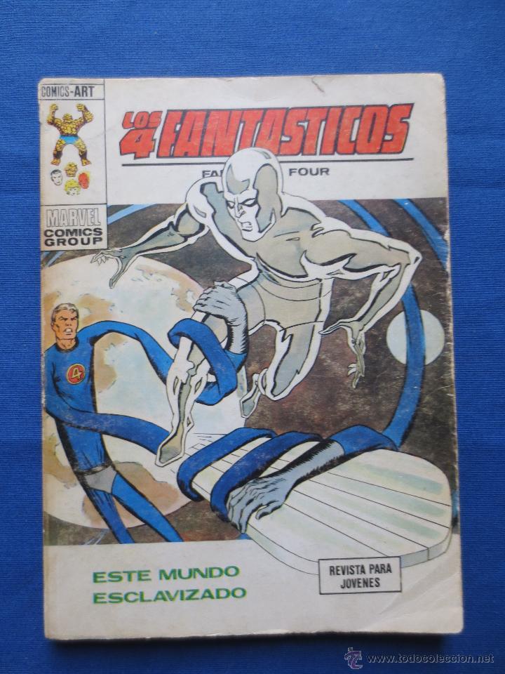 TACO VÉRTICE VOLUMEN 1 - LOS 4 FANTÁSTICOS N.º 61 - ESTE MUNDO ESCLAVIZADO (Tebeos y Comics - Vértice - 4 Fantásticos)