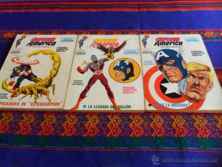 VÉRTICE VOL. 1 CAPITÁN AMÉRICA NºS 6 7 9. 25 PTS. 1969. MUY BUEN ESTADO!!!!!! (Tebeos y Comics - Vértice - Capitán América)