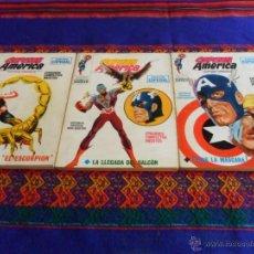 Cómics: VÉRTICE VOL. 1 CAPITÁN AMÉRICA NºS 6 7 9. 25 PTS. 1969. MUY BUEN ESTADO!!!!!!. Lote 53802707
