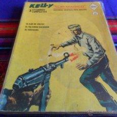 Cómics: VÉRTICE VOL. 1 KELLY OJO MÁGICO Nº 1. 1966. 25 PTS. EL OJO DE ZOLTEC. 160 PGNS. MUY DIFÍCIL!!!!!. Lote 53860504