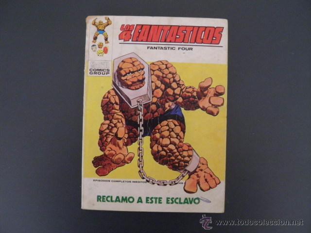 TEBEO DE LOS 4 FANTASTICOS (Tebeos y Comics - Vértice - 4 Fantásticos)