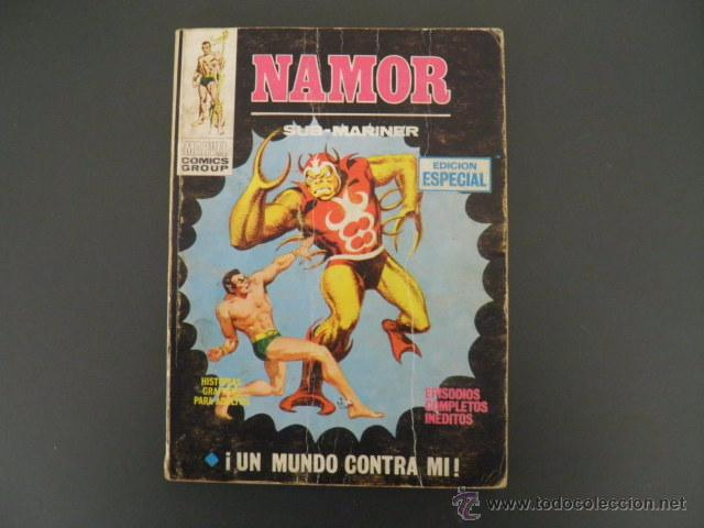 TEBEO DE NAMOR (Tebeos y Comics - Vértice - Super Héroes)