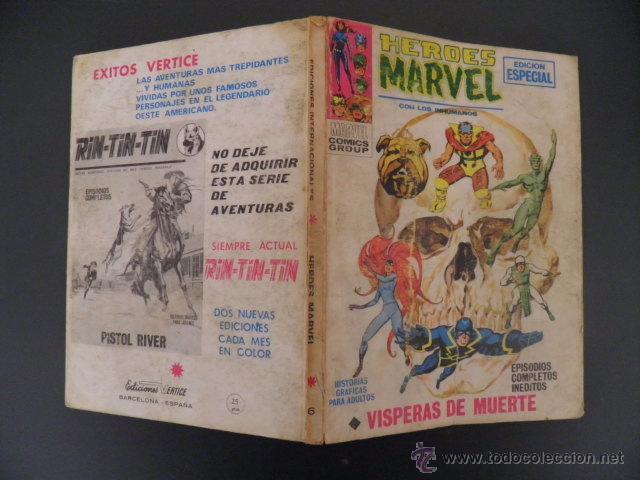 Cómics: tebeo de heroes marvel - Foto 2 - 54009376
