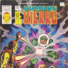 Cómics: COMIC COLECCION HEROES MARVEL VOL.2 Nº 63 EL HOMBRE DE HIERRO. Lote 54030295