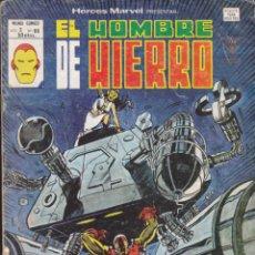 Cómics: COMIC COLECCION HEROES MARVEL VOL.2 Nº 66 EL HOMBRE DE HIERRO. Lote 54030304