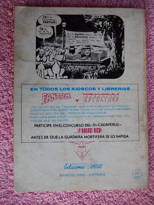 Cómics: la masa 25 ediciones vertice 1972 quien te juzgara masa vol 1 25 pesetas - Foto 9 - 54137681