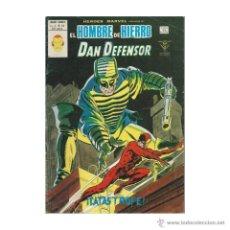 Cómics: HEROES MARVEL VOLUMEN 2 NUMERO 55 VERTICE. HOMBRE DE HIERRO Y DAN DEFENSOR.. Lote 98014715