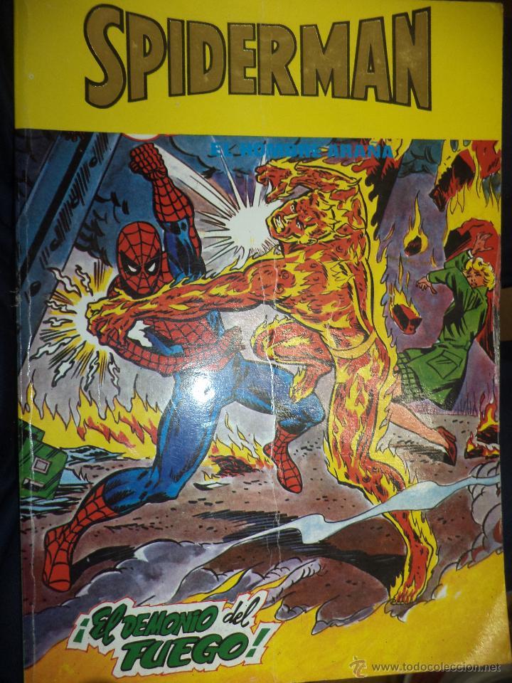 Cómics: Lote de 5 retapados VÉRTICE MARVEL Spiderman,Hulk,Iron Man,Thor y Capitán América.Muy difíciles. - Foto 3 - 54171777
