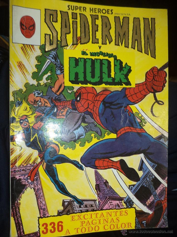 Cómics: Lote de 5 retapados VÉRTICE MARVEL Spiderman,Hulk,Iron Man,Thor y Capitán América.Muy difíciles. - Foto 4 - 54171777