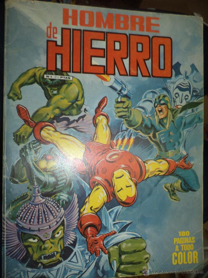 Cómics: Lote de 5 retapados VÉRTICE MARVEL Spiderman,Hulk,Iron Man,Thor y Capitán América.Muy difíciles. - Foto 5 - 54171777