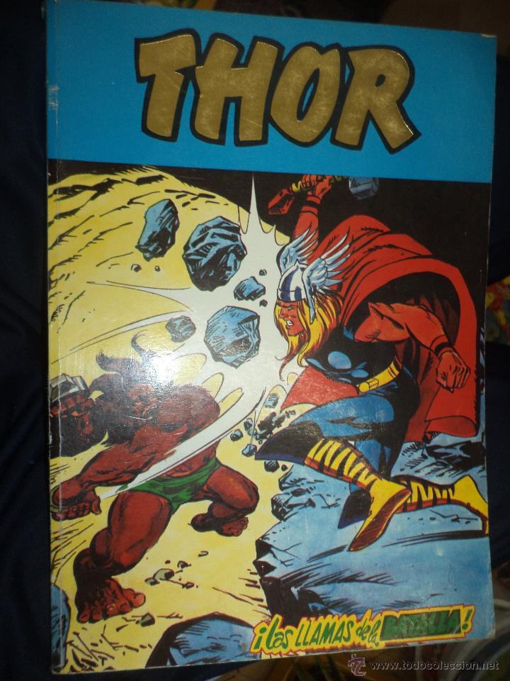 Cómics: Lote de 5 retapados VÉRTICE MARVEL Spiderman,Hulk,Iron Man,Thor y Capitán América.Muy difíciles. - Foto 6 - 54171777