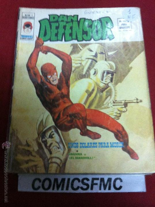 VERTICE DAN DEFENSOR V.2 NUMERO 1 (Tebeos y Comics - Vértice - Dan Defensor)